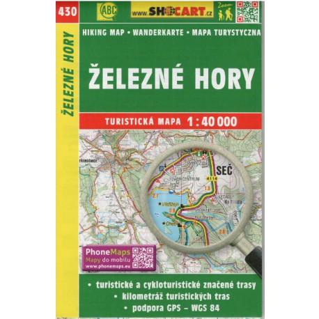 Shocart 430 Železné Hory 1:40000