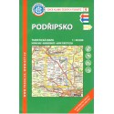 KČT 9 Podřipsko 1:50 000 turistická mapa