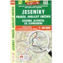 SHOCart 458 Jeseníky, Praděd, Králický Sněžník 1:40 000 turistická mapa