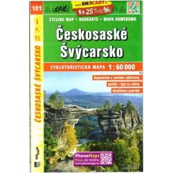 SHOCart 101 Českosaské Švýcarsko 1:60 000