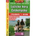 SHOCart 102 Lužické hory, Českolipsko 1:60 000 cykloturistická mapa