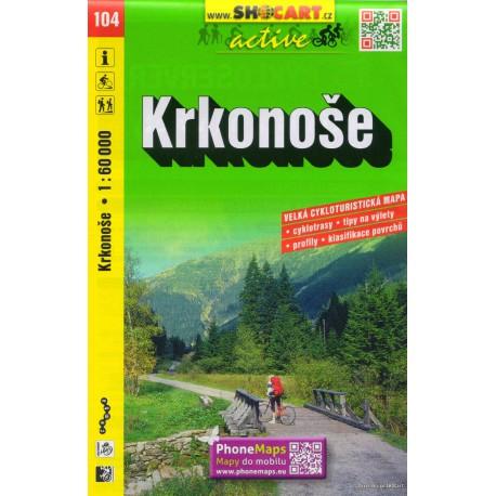 SHOCart 104 Krkonoše 1:60 000