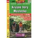SHOCart 106 Krušné hory, Mostecko 1:60 000 cykloturistická mapa