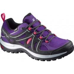 Salomon Ellipse 2 GTX W cosmic purple/asphalt 379202 dámské nízké nepromokavé boty