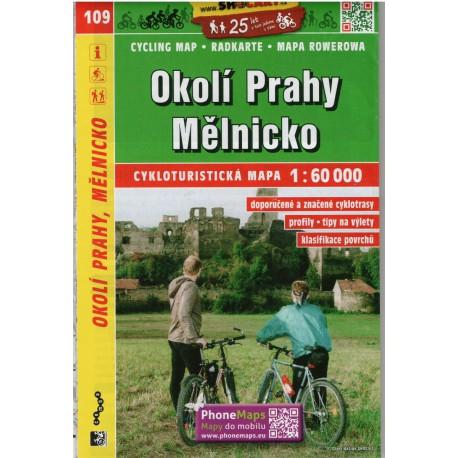 SHOCart 109 Okolí Prahy, Mělnicko 1:60 000