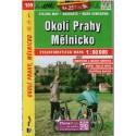SHOCart 109 Okolí Prahy, Mělnicko 1:60 000 cykloturistická mapa