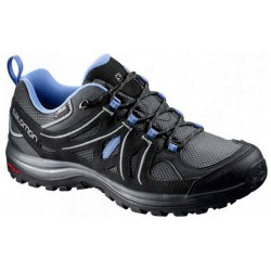 Salomon Ellipse 2 GTX W asphalt/p. blue 381629 dámské nízké nepromokavé boty