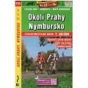 SHOCart 111 Okolí Prahy, Nymbursko 1:60 000 cykloturistická mapa