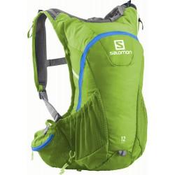 Salomon Agile 2 12 Set union blue/gecko green 373753 běžecký batoh + vodní vak