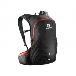 Salomon Trail 20 black/bright red 379981 běžecký batoh