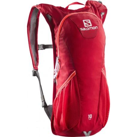 Salomon Trail 10 bright red 379975 běžecký batoh