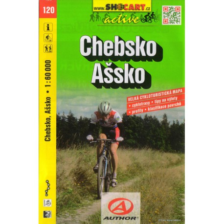 SHOCart 120 Chebsko, Ašsko 1:60 000