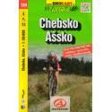SHOCart 120 Chebsko, Ašsko 1:60 000 cykloturistická mapa