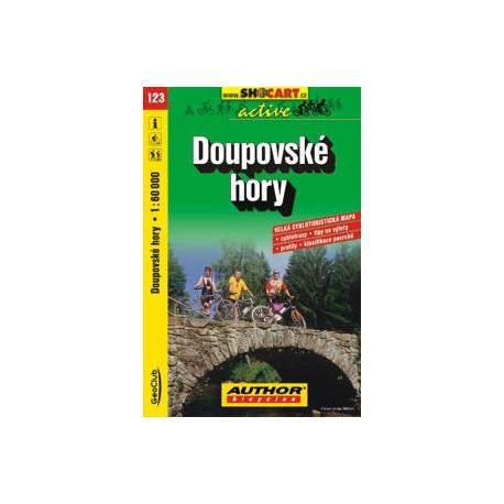 SHOCart 123 Doupovské hory 1:60 000