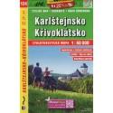 SHOCart 124 Karlštejnsko, Křivoklátsko 1:60 000 cykloturistická mapa
