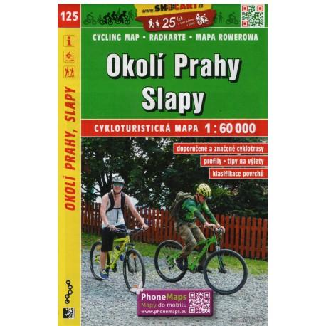 SHOCart 125 Okolí Prahy, Slapy 1:60 000