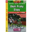 SHOCart 125 Okolí Prahy, Slapy 1:60 000 cykloturistická mapa