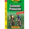 SHOCart 127 Čáslavsko, Přeloučsko 1:60 000 cykloturistická mapa