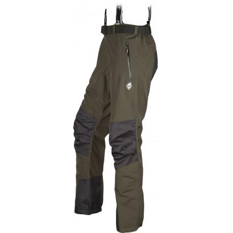High Point Teton 3.0 dark khaki pánské nepromokavé kalhoty BlocVent 2L DWR