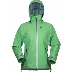 High Point Star Lady Jacket green dámská nepromokavá bunda BlocVent Pro 3L DWR (1)
