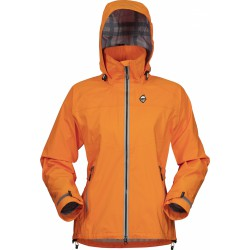 High Point Star Lady Jacket orange dámská nepromokavá bunda BlocVent Pro 3L DWR (1)