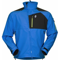 High Point Stratos blue aster pánská softshellová bunda Mechanical Softshell BlocVent 3L