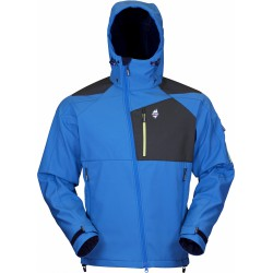 High Point Stratos Hoody blue aster pánská softshell. bunda MechanicalSoftshell BlocVent3L