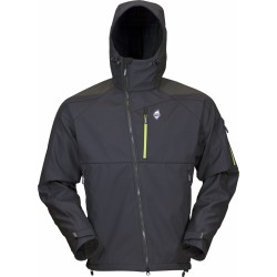 High Point Stratos Hoody black pánská softshellová bunda Mechanical Softshell BlocVent 3L