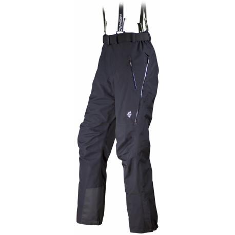 High Point Free Fall 2.0 black pánské nepromokavé kalhoty BlocVent 2L DWR
