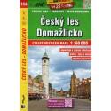 SHOCart 134 Český les, Domažlicko 1:60 000 cykloturistická mapa