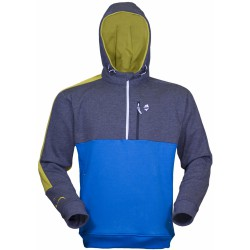 High Point Rock Hoody deep blue/grey shadow pánská mikina