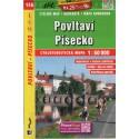 SHOCart 136 Povltaví, Písecko 1:60 000 cykloturistická mapa