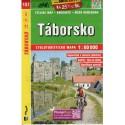 SHOCart 137 Táborsko 1:60 000 cykloturistická mapa