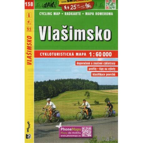 SHOCart 138 Vlašimsko 1:60 000