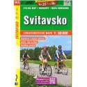 SHOCart 143 Svitavsko 1:60 000 cykloturistická mapa