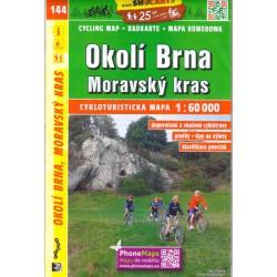 SHOCart 144 Okolí Brna, Moravský kras 1:60 000