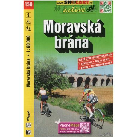 SHOCart 150 Moravská brána 1:60 000