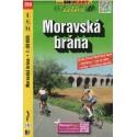 SHOCart 150 Moravská brána 1:60 000 cykloturistická mapa