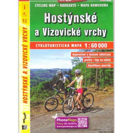 SHOCart 152 Hostýnské a Vizovické vrchy 1:60 000