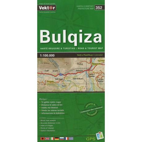 Vektor 352 Albánie Bulqiza 1:100 000 automapa