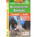 SHOCart 154 Moravskoslezské Beskydy 1:60 000 cykloturistická mapa