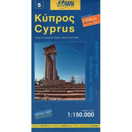 ORAMA 5 Cyprus/Kypr 1:150 000 automapa