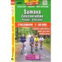 SHOCart 155 Šumava, Železnorudsko, Povydří, Churáňov 1:60 000 cykloturistická mapa
