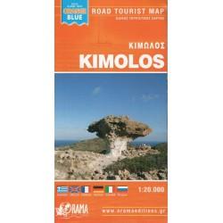 ORAMA Kimolos 1:20 000 turistická mapa