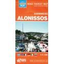 ORAMA Alonissos 1:41 500 turistická mapa