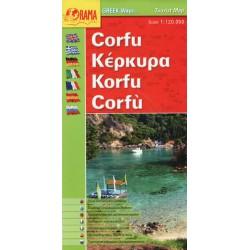 ORAMA Corfu/Korfu 1:120 000 automapa