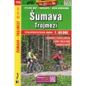SHOCart 156 Šumava, Trojmezí 1:60 000 cykloturistická mapa