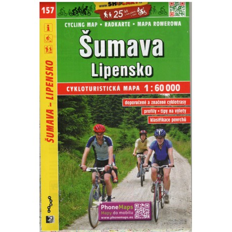 SHOCart 157 Šumava, Lipensko 1:60 000
