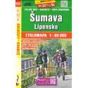 SHOCart 157 Šumava, Lipensko 1:60 000 cykloturistická mapa