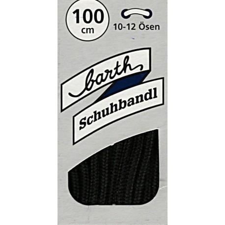 Barth Classic kulaté tenké/100 cm/barva 038 tkaničky do bot